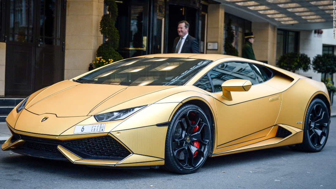 super rich saudis gold cars hit london cnn style
