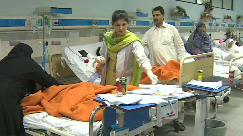 Child victims of blast struggle to recover