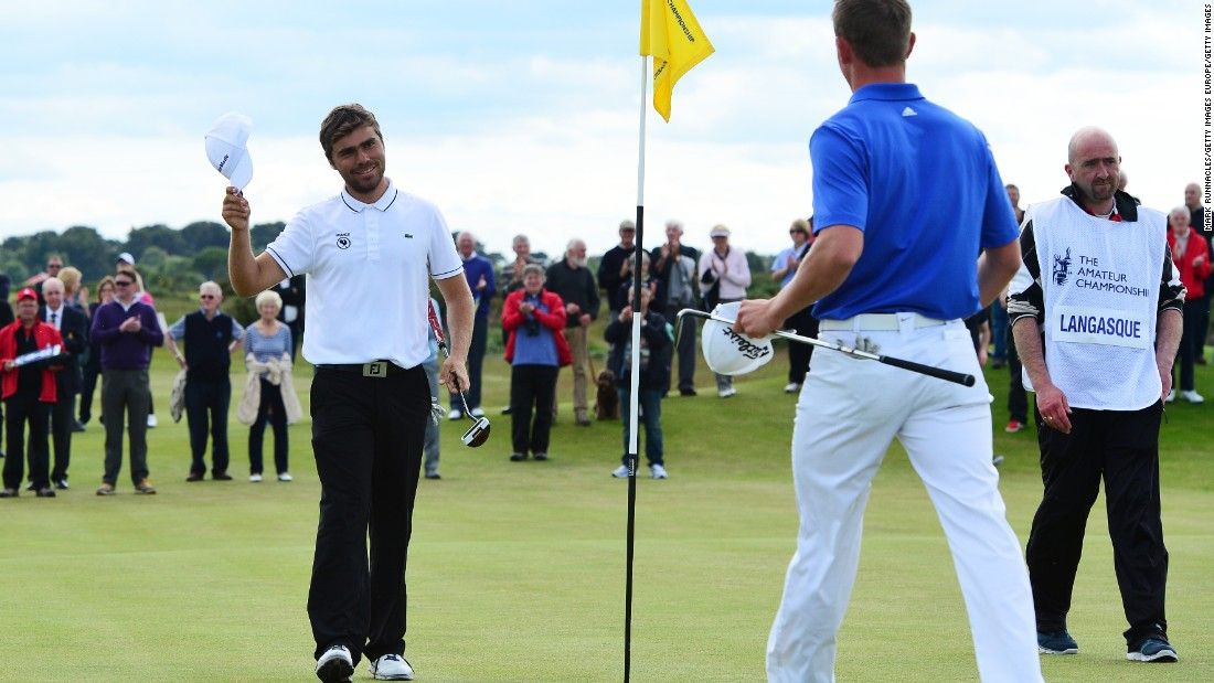 The 20-year-old Frenchman qualified for the Masters after winning the British Amateur at Carnoustie in June, beating Scotland's Grant Forrest to the title. The Masters will be Langasque's last tournament before turning professional.