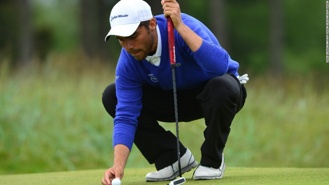 Langasque says he is most looking forward to playing the 16th hole having watched on television as a 10-year-old when Tiger Woods' famous chip shot on that green helped him secure a fourth green jacket in 2005.