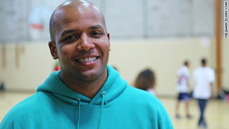 Marquis Taylor's nonprofit, Coaching4Change, pairs college students with high school students to coach middle school basketball teams.