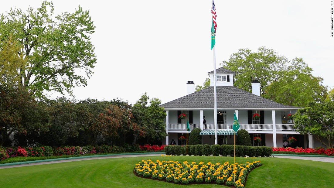 Given his non-professional status, Langasque is invited to stay at Augusta's clubhouse for the Masters but he told CNN he will stay for one night only -- after the amateur dinner on the Monday before the tournament starts.