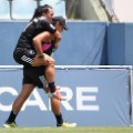 Portia Woodman: Carried off during Brazil sevens