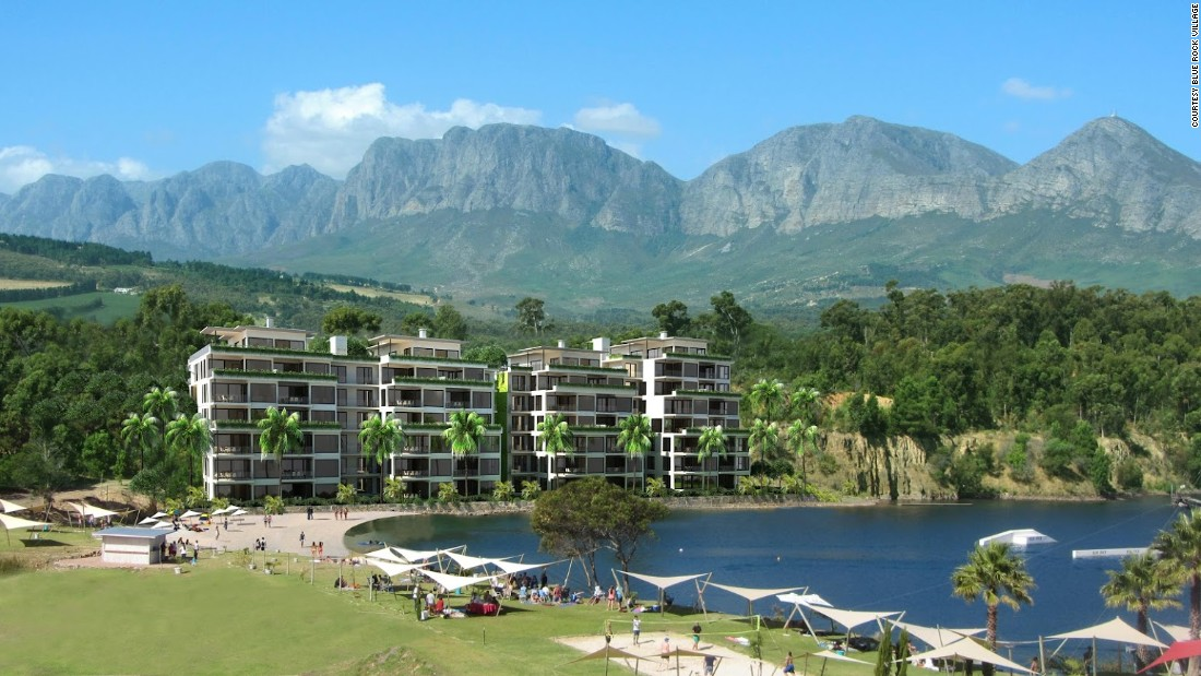 Would you visit a village without any cars? That's the vision for a new $900 million project to be built on the existing Blue Rock Resort in Somerset West, Cape Town, South Africa.