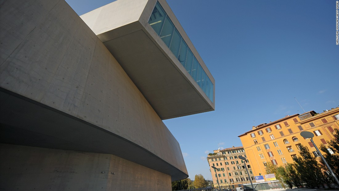 The 290,000-square-foot structure became Italy's first national public museum of contemporary art when it opened in 2010.