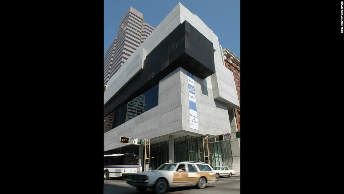 The Rosenthal Center for Contemporary Art, which opened in 2003, was Hadid's first building in America.