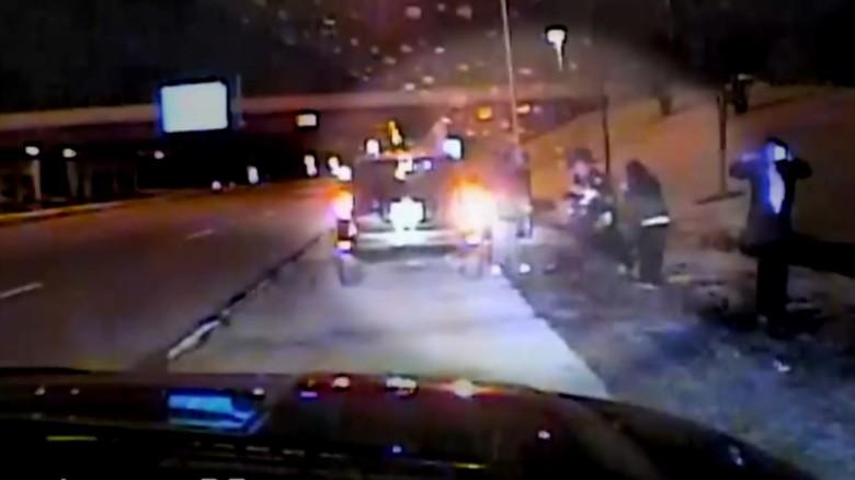dashcam officers save baby sandoval pkg_00000000