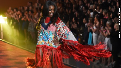 Leomie walked for Victoria Secret for the first time last year.