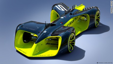 'Roborace' is a driverless car race series which is scheduled to start later this year.