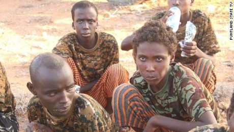 The young fighters have admitted to being part of previous Al-Shabaab attacks and say there are many more like them in the terror group's ranks.
