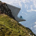 zaha hadid messner mountain museum