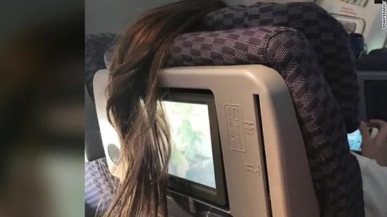 Hair Plane airline passenger moos pkg erin_00020105