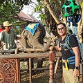 Elephants at Thai Thani Art _ Culture Village