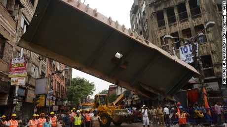 Rescue efforts continue after India bridge collapse