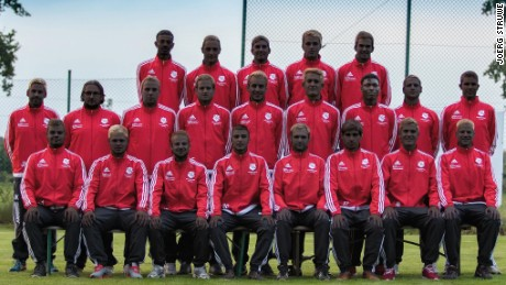 Deinster SV, a German football club, posted a digitally altered team photo making their players appear black after a Sudanese refugee player, Emad Babiker, was attacked.