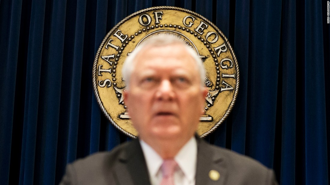 "Georgia Gov. Nathan Deal announces Monday, March 28, that <a href=""http://www.cnn.com/2016/03/28/us/georgia-north-carolina-lgbt-bills/"" target=""_blank"">he will veto a bill</a> that would have given faith-based organizations the option to deny services and jobs to gay, lesbian, bisexual and transgender people. Supporters said the measure was meant to protect religious freedom, while opponents described it as ""anti-LGBT"" and ""appalling."" ""I do not think we have to discriminate against anyone to protect the faith-based community in Georgia, of which I and my family have been a part of for all of our lives,"" Deal said."