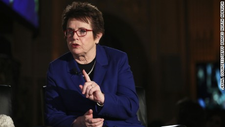Billie Jean King talks gender pay gap, U.S. Election