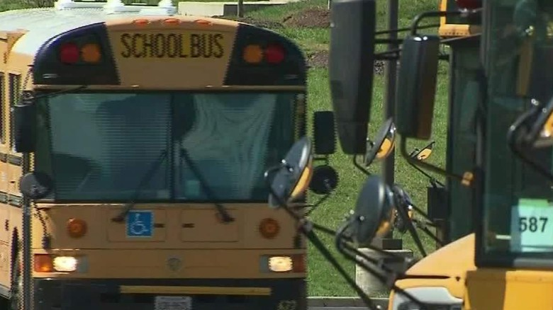 CIA left explosive materials on school bus