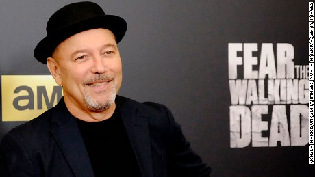 "LOS ANGELES, CA - MARCH 29:  Actor Ruben Blades attends the premiere of AMC's ""Fear The Walking Dead"" Season 2 at Cinemark Playa Vista on March 29, 2016 in Los Angeles, California.  (Photo by Frazer Harrison/Getty Images)"