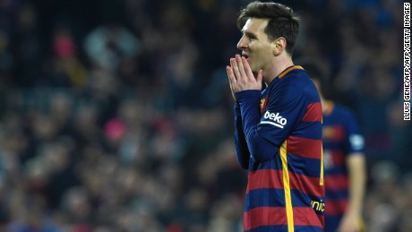 Barcelona: Club promises Lionel Messi legal and financial backing over Panama Papers claims