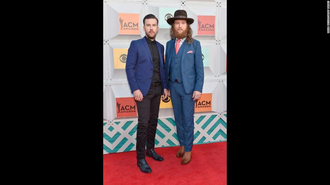 T.J. Osborne and John Osborne of the Brothers Osborne