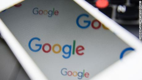 The logo for US technology company and search engine Google is displayed on screens in London on February 11, 2016.  Britain's tax agency announced last month that Google would pay a £130 million (166 million euro, $187 million) tax settlement for 10 years' operations in Britain where it makes 11 percent of its global sales. Finance minister George Osborne hailed the agreement as a victory. But there was a barrage of criticism, including from within Prime Minister David Cameron's own Conservative Party as the announcement coincided with a key tax filing deadline for many Britons.  / AFP / LEON NEAL        (Photo credit should read LEON NEAL/AFP/Getty Images)