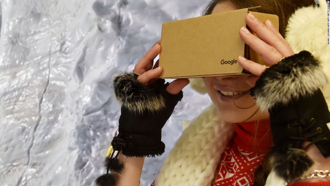 "The cheapest VR option of them all is the humble Google Cardboard. Several models are <a href=""https://www.google.com/get/cardboard/get-cardboard/"" target=""_blank"">available</a> online for as little as $15, and they work with almost any smartphone."