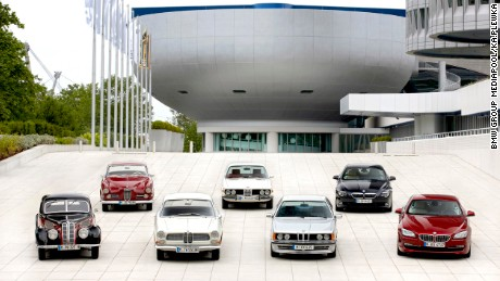 Heritage BMW 6 Series coupes.