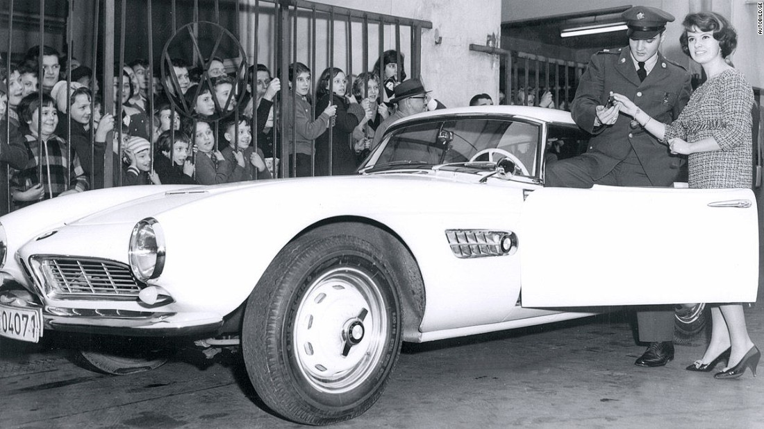 The most famous owner of the highly desirable BMW 507 (1956--1959) was a young American musician by the name of Elvis Presley. He actually owned two of them.