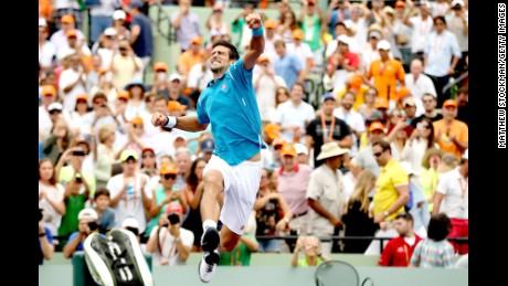 Novak Djokovic ties Australian Open record