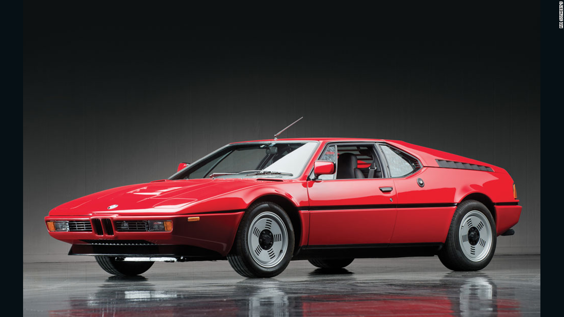 The M1 (1978--1981) remains one of the most beautiful sports cars ever built, with a design by Italy's legendary Giorgetto Giugiaro. We detect the influence of its wedge shape in the ultra-modern i8.