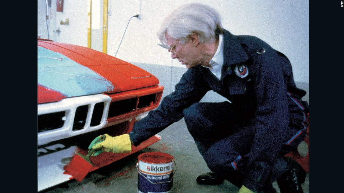 The M1 also joined the Art Car club when Andy Warhol gave a racing version of one a Pop Art makeover in 1977. No mere museum piece, the car was entered into competition.