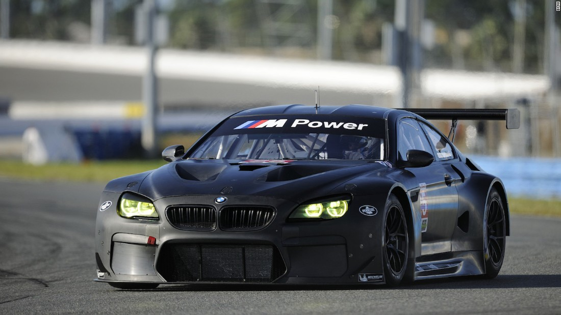The M6 GTLM is BMW's newest race car, introduced to celebrate the 100th anniversary - and annihilate the competition -- at the hands of factory drivers like Bill Auberlen. So far it's fulfilling the mission.