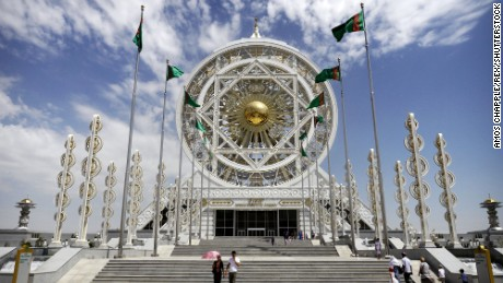 The Alem Entertainment Center cost $90 million and is the largest enclosed Ferris wheel in the world.