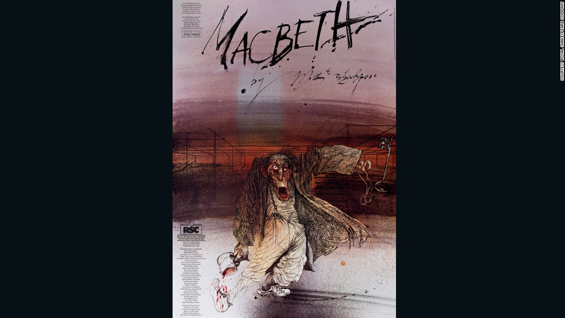 Royal Shakespeare Company, Royal Shakespeare Theatre, Barbican Theatre, 1982. Designer: CS&S Design Partnership; Illustrator: Ralph Steadman