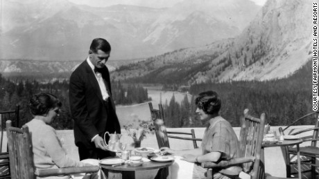 The Banff Springs hotel has been pampering guests for more than a century.