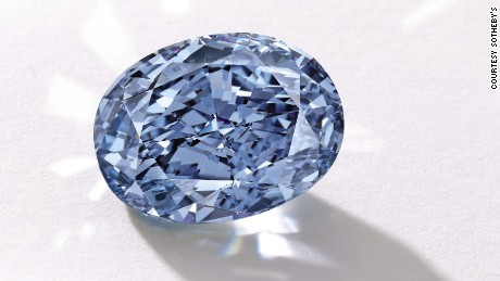 Rare blue diamond set to smash auction records in Asia