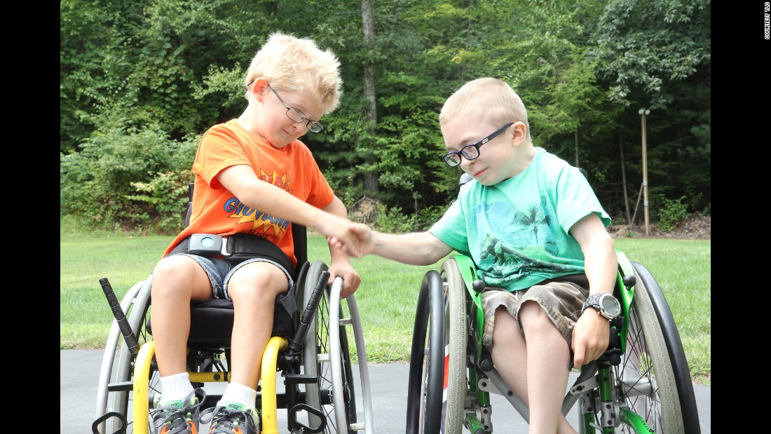 "A new TLC show, ""Two in a Million,"" introduces pairs of people who share rare medical conditions. Giovanni, 7, left, and Owen, 9, have <a href=""https://rarediseases.info.nih.gov/gard/250/schwartz-jampel-syndrome-type-1/resources/1"" target=""_blank"">Schwartz-Jampel syndrome</a>, a rare genetic disorder characterized by abnormalities of the skeletal muscles, including muscle weakness and stiffness, abnormal bone development, permanent bending or extension of certain joints in a fixed position, and/or growth delays resulting in abnormally short stature (dwarfism),<a href=""http://rarediseases.org/rare-diseases/schwartz-jampel-syndrome/"" target=""_blank""> according to the National Organization for Rare Disorders</a>. Affected individuals might also have small, fixed facial features and various abnormalities of the eyes, some of which can cause impaired vision."