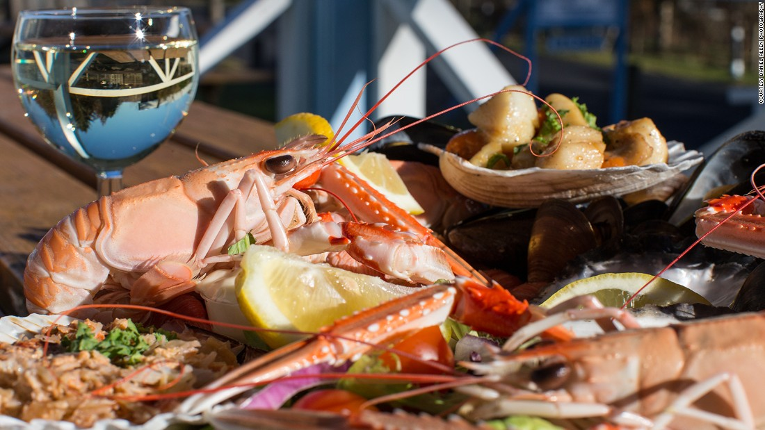 "Undoubtedly one of the best seafood restaurants in the British Isles, the <a href=""http://www.kishornseafoodbar.co.uk/"" target=""_blank"">Kishorn Seafood Bar</a> in Strathcarron is a simple, award-winning eatery located between Lochcarron and Shieldaig at the foot of the Applecross hills, with beautiful views of the Isle of Skye. The emphasis here is on local produce."