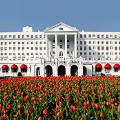 railroad hotels greenbrier exterior