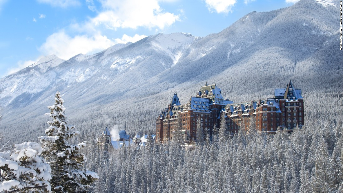 One of the first hotels built by the Canadian Pacific Railway, the Banff Springs hotel opened in 1888 in Banff, Alberta.