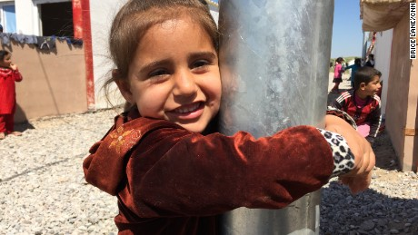 Abu Israa says his four-year-old daughter is traumatized by her experiences under ISIS control