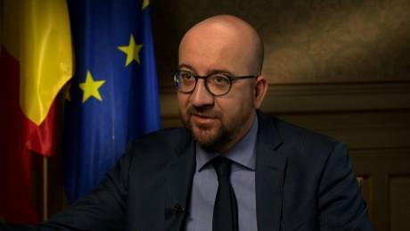 Charles Michel  Belgian Prime Minister