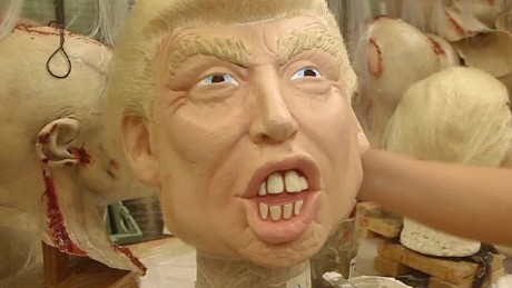 Mexican factory sees rise in demand for Trump masks