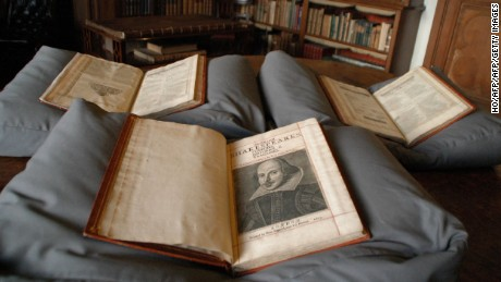 The three-volume folio was among books in a collection at a historic house on a Scottish island.