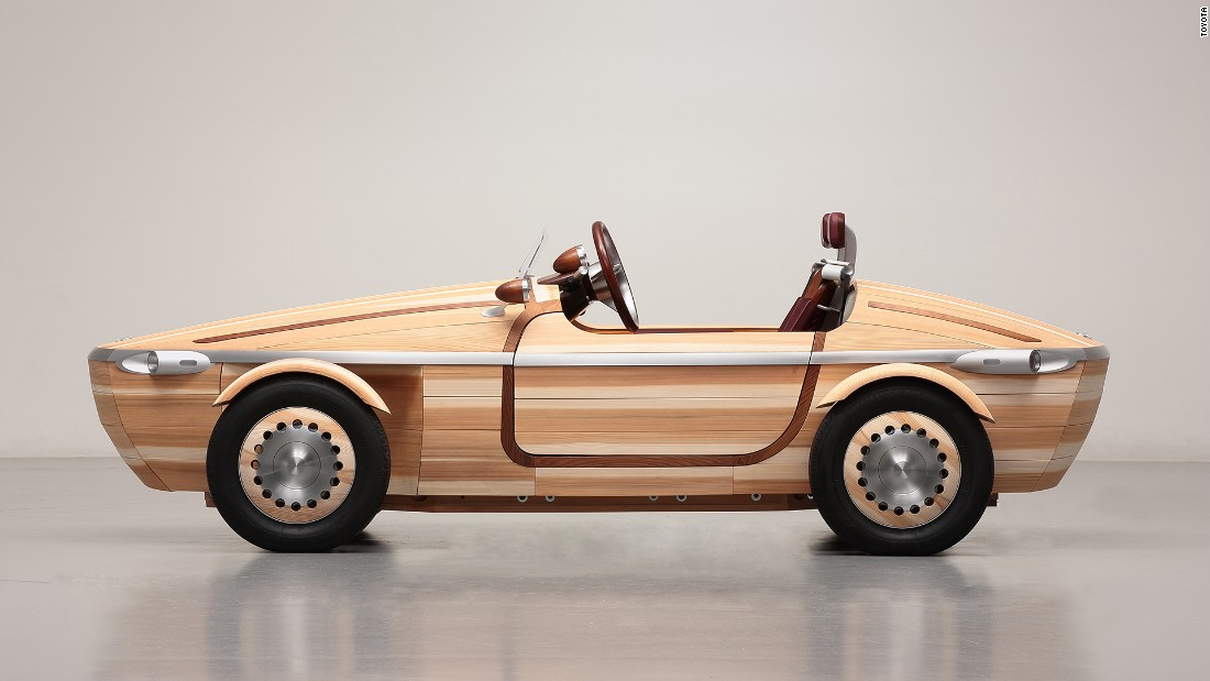 "Would  you believe me if I told you that this life-size wooden car fits together without the use of nails or screws? Like a puzzle, the <a href=""http://edition.cnn.com/2016/04/06/design/toyota-setsuna-wooden-car/"">Toyota Setsuna</a> wooden car uses a technique called <em>okuriari</em> to join all the wooden pieces together. Kudos to Kenji Tsuji and his design team for making this dream car a reality."