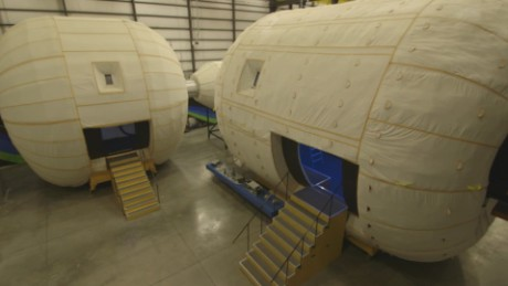 Go inside a future space home