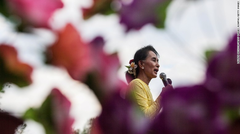 New role created for Myanmar's Aung San Suu Kyi