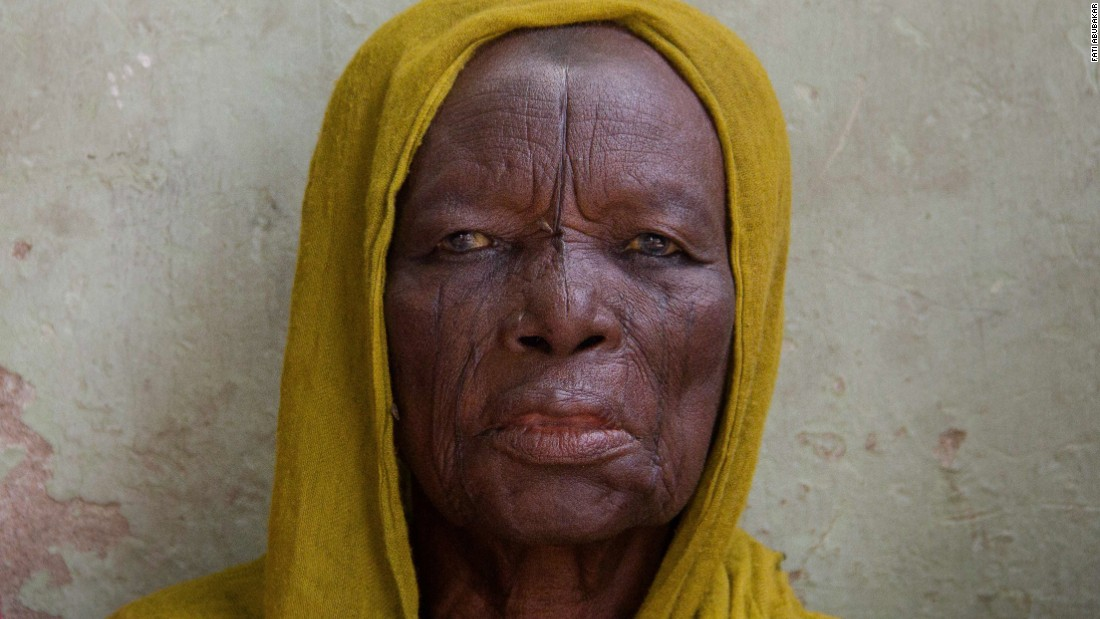 """She was so quiet it was disturbing,"" Abubakar recalls on meeting this anonymous subject. ""I wonder what scars she came with. The mass relocation to Maiduguri during Boko Haram has brought a lot of the villagers to the town. And one wonders what they had to endure."""