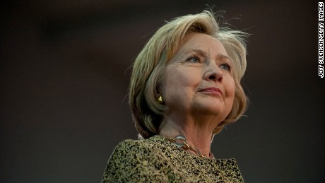 Hillary Clinton speaks at a rally in Skibo Hall at Carnegie Mellon University on April 6, 2016 in Pittsburgh, Pennsylvania.